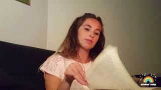 ASMR Hypnotizing Monotonic Book Page turning + Page squeezing