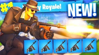 DRUM GUN *ONLY* CHALLENGE in Fortnite Battle Royale