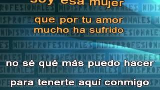Soy Esa Mujer - Orquesta De La Luz - Salsa // DEMO VIDEO KARAOKE MIDI MP3 INSTRUMENTAL