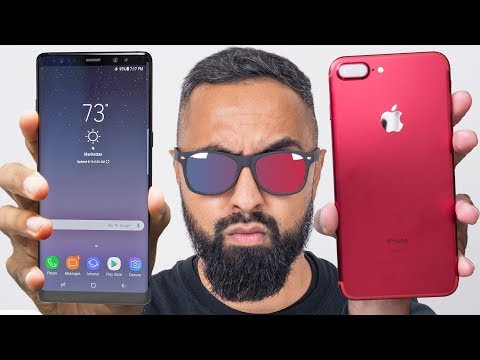 Download Youtube: Samsung Galaxy Note 8 vs iPhone 7 Plus