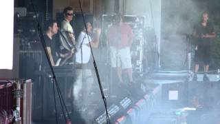 "Nine Inch Nails ""The Line Begins to Blur"" Sound Check"