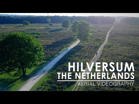 Flying above Hilversum, The Netherlands | Aerial Videography [4K, 50fps]