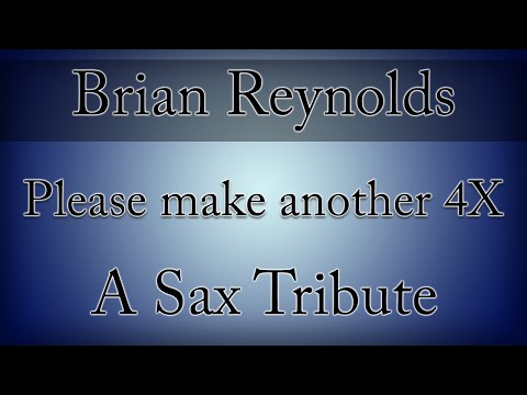 Brian Reynolds: A Tribute (Rise of Nations - High Strung Sax Cover) | subversiveasset