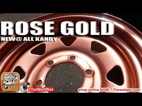 Rose Gold Paint Paint Your Vehicle With Allkandy Rose