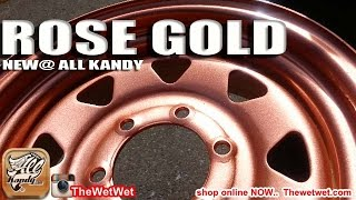 ROSE GOLD PAINT ... PAINT YOUR VEHICLE with ALLKANDY  ROSE GOLD