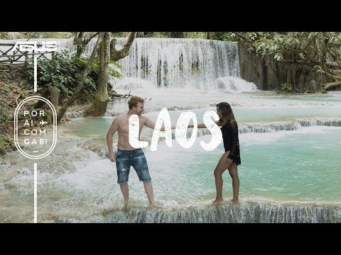 LAOS: A Cachoeira Mais Surreal Que Já Vi  PorAiComGabiAsus ep5