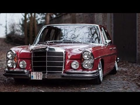Tuning Mercedes Benz 280S W108 Stance / MostbookVideo