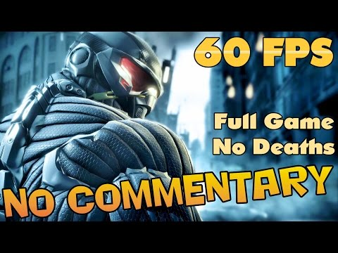 Crysis - Full Game Walkthrough 【NO Commentary】【60 FPS】