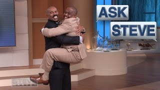 Ask Steve: Jump in my arms! || STEVE HARVEY