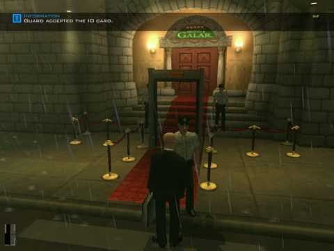 Hitman Contracts How to take sniper briefcase to the hotel