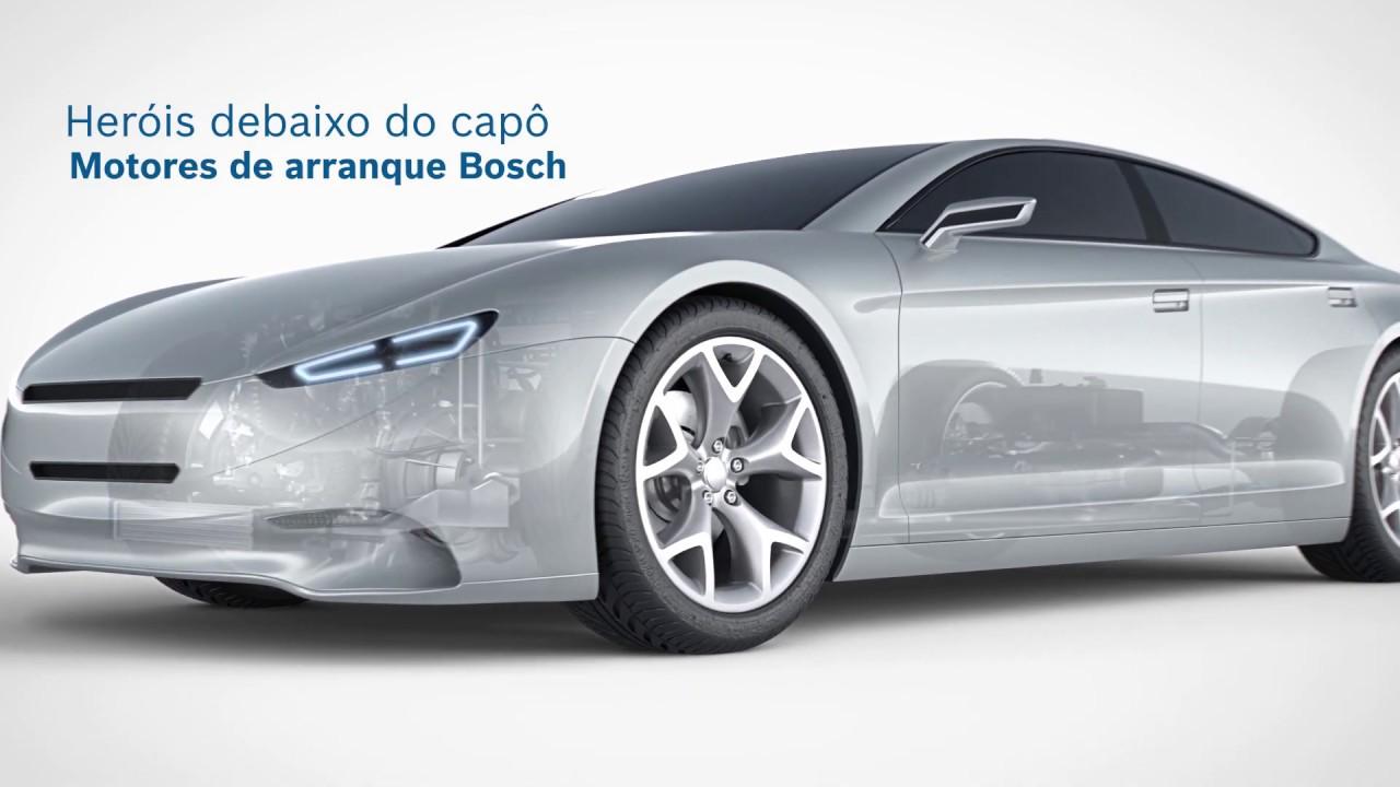 Motores de arranque Bosch: heróis debaixo do capô | Bosch Automóvil