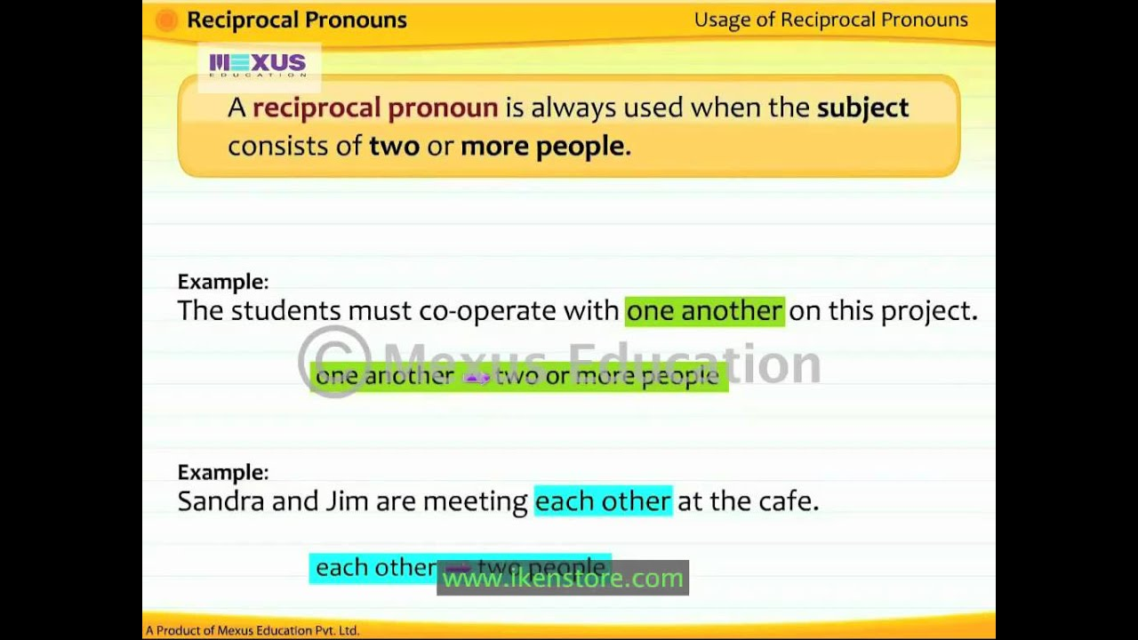Workbooks reflexive pronoun worksheets for 2nd grade : Reciprocal Pronouns Worksheet Free Worksheets Library | Download ...