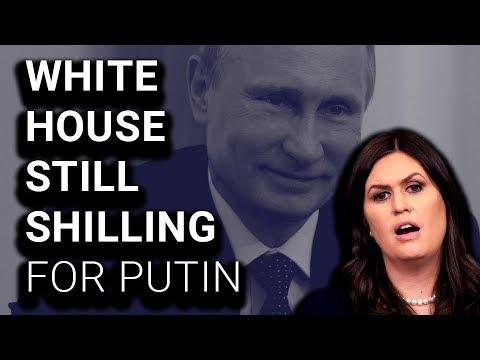 White House Afraid to Criticize Bogus Russian Election