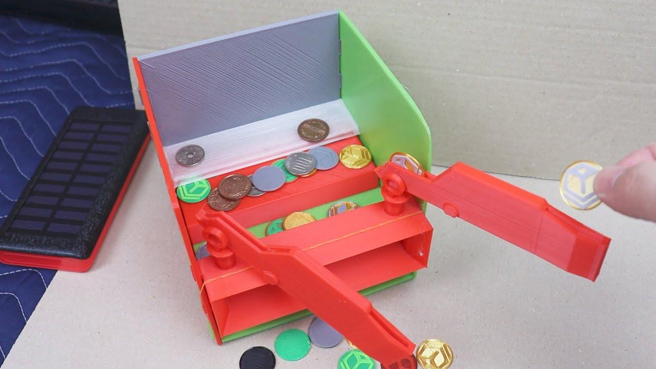 3DプリンターとArduinoでメダル落とし作って遊んでみた
