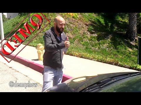 American Uber Driver VS Armenian Uber Driver (DEMQ SHOW)
