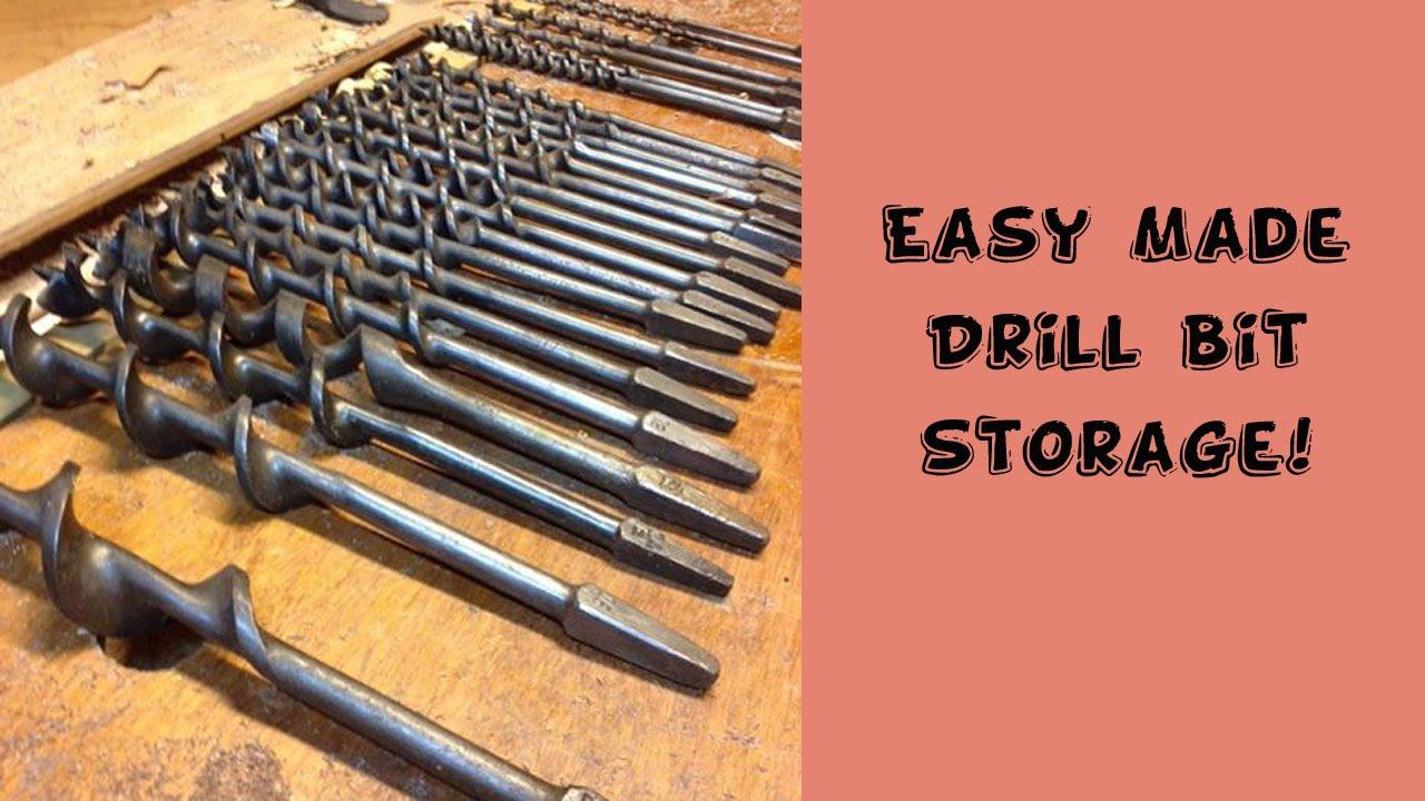 sc 1 st  YouTube & Easy Drill Bit Storage! - YouTube