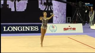 Viktoria Mazur (UKR) All Around Final Clubs Izmir ( TUR) 2014(Видео принадлежит группе TEAM UKRAINE DAILY | Сезон 2014 | ЧМ 2014 https://vk.com/teamukrainedaily., 2014-09-26T14:54:02.000Z)