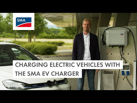 Charging electric vehicles with the SMA EV Charger