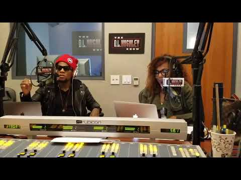 DL Hughley THE ELECTION IS TOMORROW BEING LEAD BY HOPE AND FEAR
