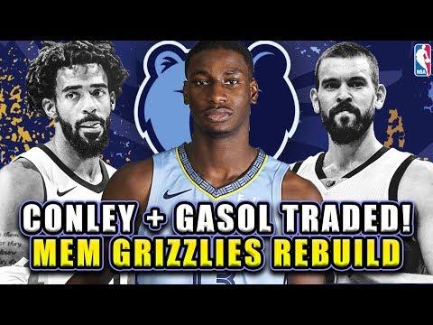 MIKE CONLEY + MARC GASOL TRADED! MEMPHIS GRIZZLIES REBUILD! NBA 2K19 MY LEAGUE