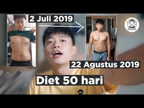 HASIL DIET 50 HARI.. MAKAN DAN OLAHRAGANYA❓ thumbnail