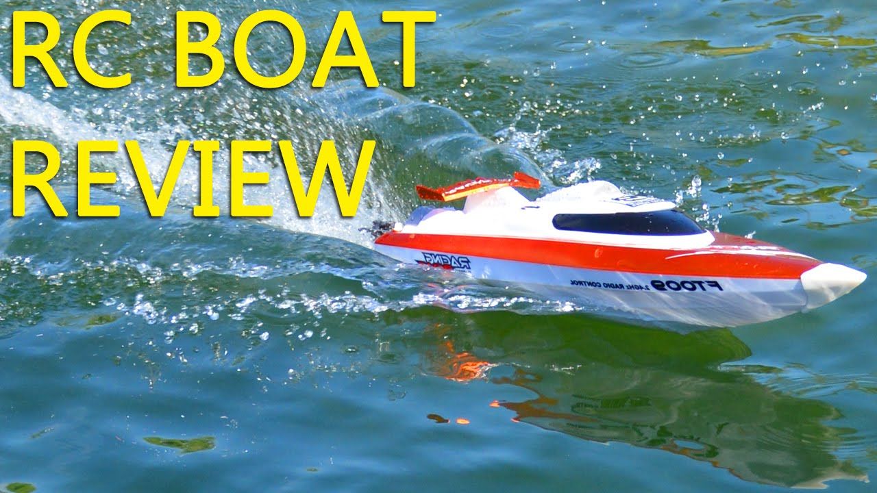 Best RC boat for your money - Great for kids & adults - YouTube
