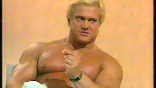 A great Tom Platz  interview by Terry Wogan for the BBC