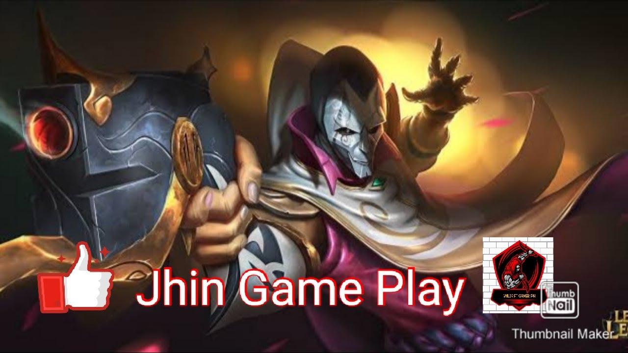 League Of Legends Wildrift Alpha Test Jhin Game Play Normal Mode