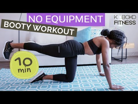 TONE & SCULPT LEGS & BOOTY - 10 Min Home Workout | Home Workout - Koboko Fitness