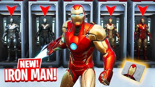 NEW *IRON MAN* UPDATE in FORTNITE! (Mythic Weapons)