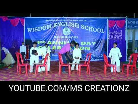 MARTIAL ARTS ACT||PART-3|| WISDOM ENGLISH SCHOOL KEREBILCHI