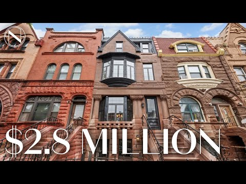Inside a HUGE 2,000 SQ-FT Townhouse in Brooklyn