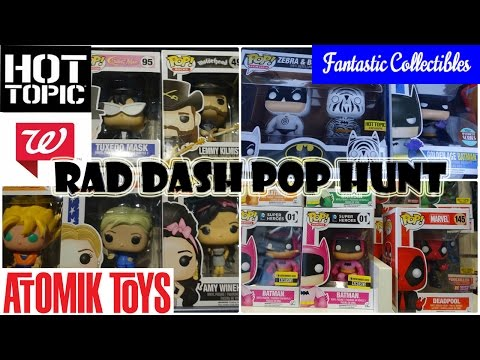 1 Day 3 Cities 6 Shops / RAD DASH FUNKO POP HUNT