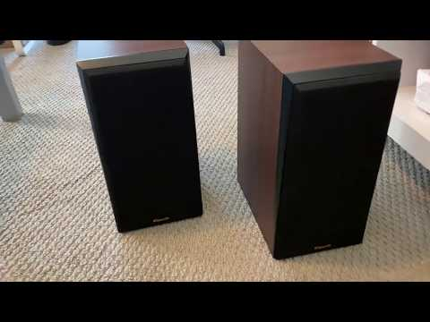 KLIPSCH RP-500M UNBOXING AND OVERVIEW