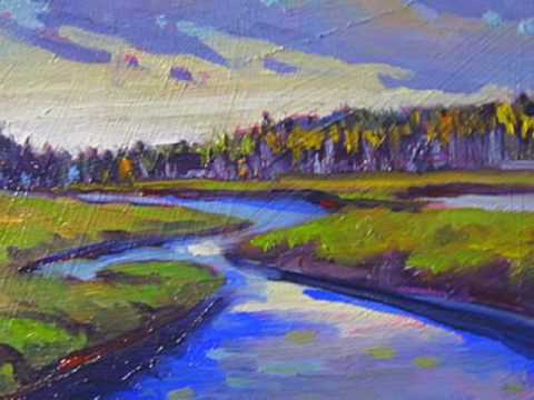 canadian landscape and plein air