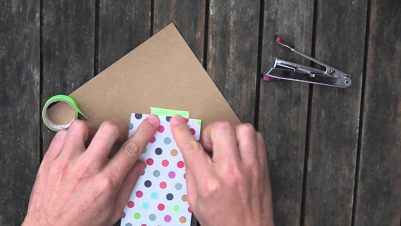 Paquet cadeau en origami le berlingo youtube - Papier cadeau origami ...