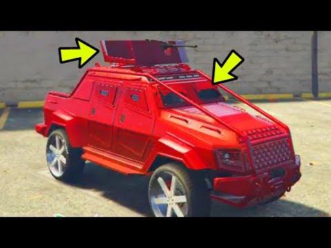 Generate GTA 5 ONLINE - 2 NEW CUSTOM VEHICLES & HIDDEN CUSTOMIZATIONS! (GTA 5 GUNRUNNING DLC) Images