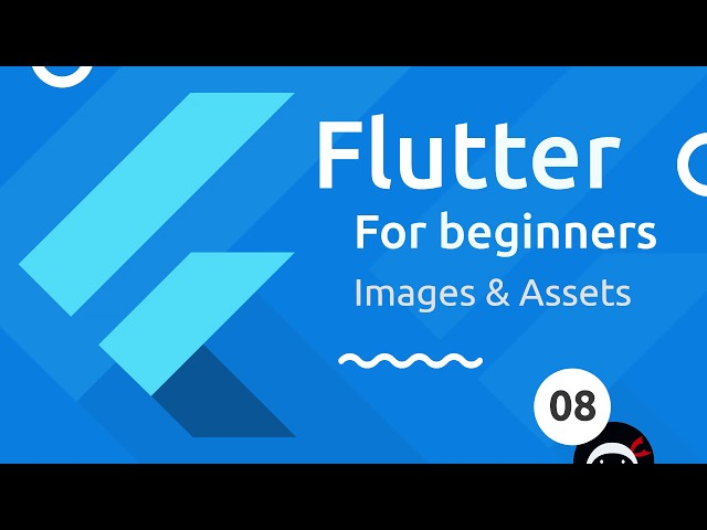 Flutter Tutorial for Beginners #8 - Images & Assets