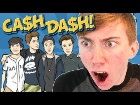 CASH DASH: CAMERON, NASH, CARTER, AND HAYES (iPhone Gameplay Video)