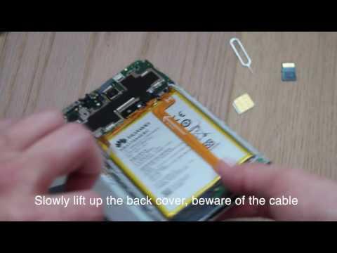 Huawei Mate 7 battery change