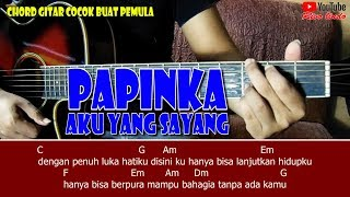 Papinka - Aku Yang Sayang (TUTORIAL CHORD GENJRENGAN MUDAH BUAT PEMULA)
