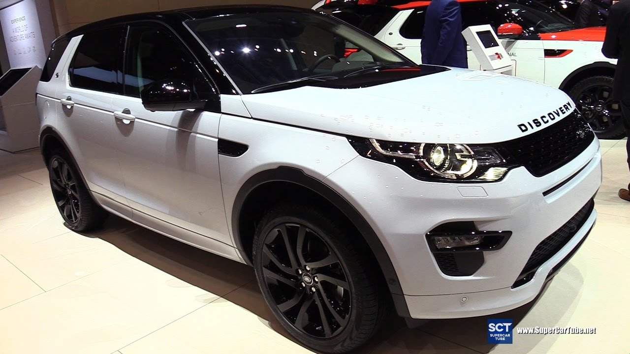 2017 land rover discovery sport luxury exterior interior walkaround 2017 geneva motor show. Black Bedroom Furniture Sets. Home Design Ideas