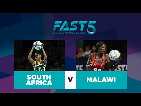 South Africa v Malawi | Fast5 World Series 2017