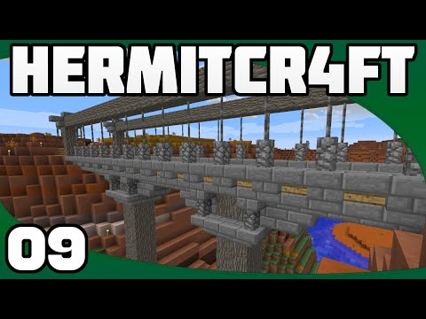 Hermitcraft 4 - Ep. 9: Finishing the Bridge