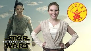 Star Wars The Force Awakens Deluxe Rey Costume from Rubies Costumes