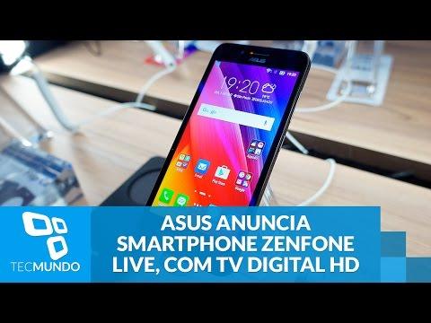ASUS Anuncia Smartphone Zenfone Live, Com TV Digital HD