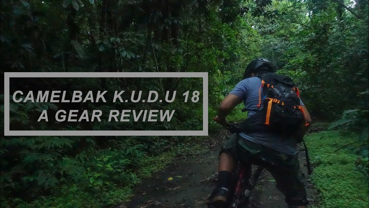 factory price detailed pictures classic style Camelbak K.U.D.U. 18 Review