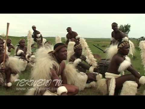 Zulu Tribal Dance in South Africa