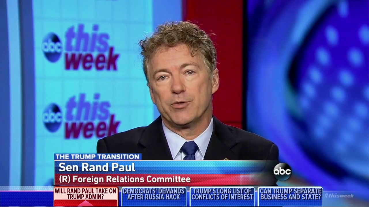 Rand Paul Will Not Let Donald Trump's John Bolton Near the ...