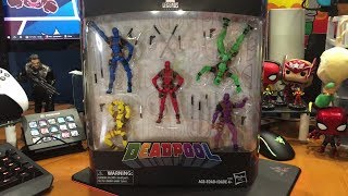 Marvel Legends Deadpool's Rainbow Squad Five Pack Review (Foolkiller, Solo, Slapstick, Terror)